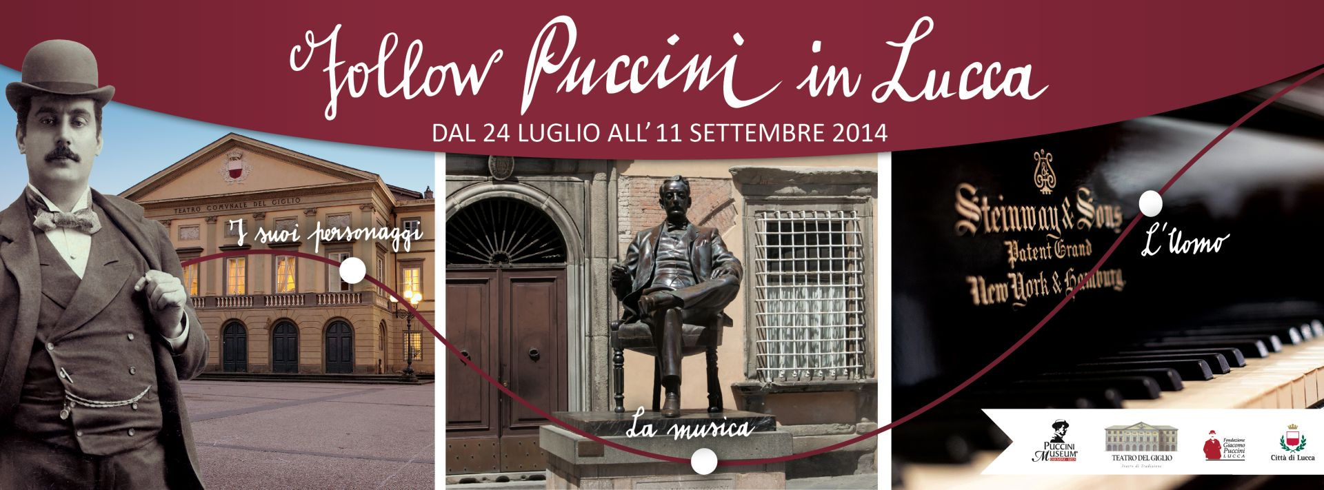 FOLLOW PUCCINI IN LUCCA