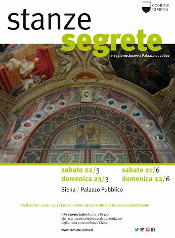 LE STANZE SEGRETE DEL PALAZZO PUBBLICO DI SIENA