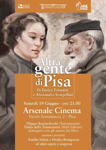 PRESENTAZIONE LIBRO 'ALTRA GENTE DI PISA'