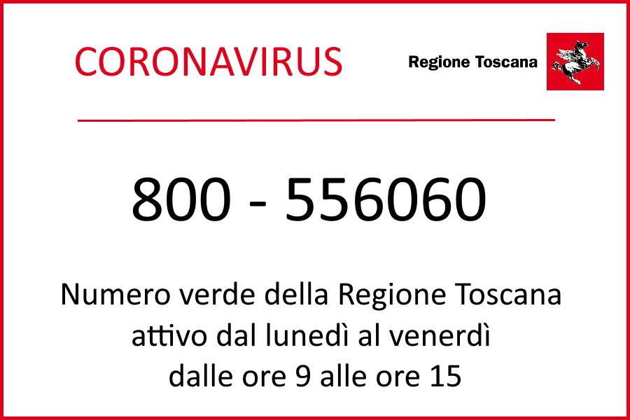 INFORMAZIONI SUL CORONAVIRUS IN TOSCANA IN 6 LINGUE