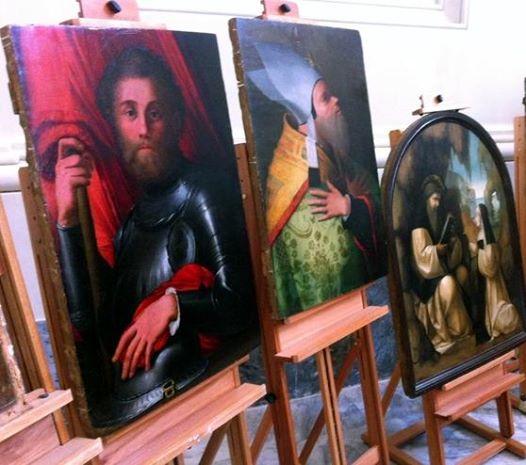I DIPINTI RECUPERATI DEL MUSEO DI SAN MATTEO